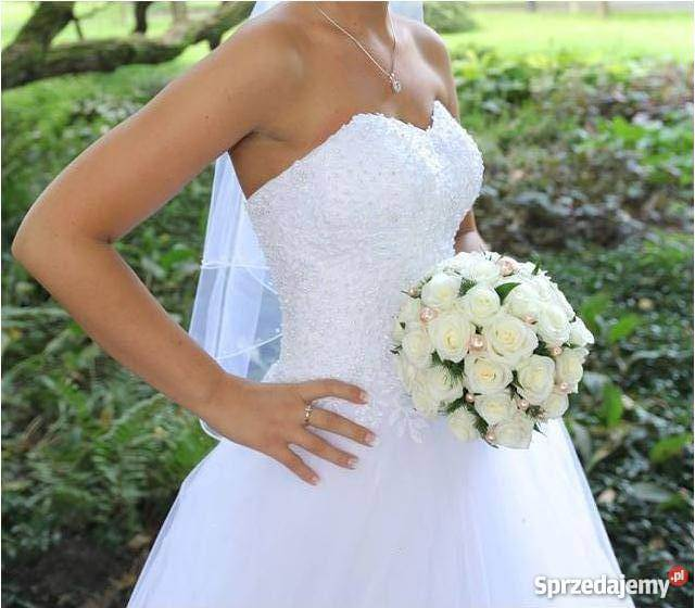 Używana piękna suknia ślubna